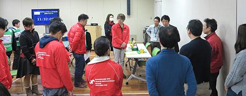 青年部からも多くのメンバーがスタッフとして参加